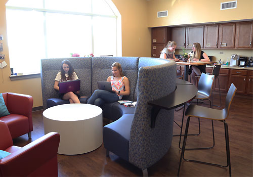 East Hall Dormitory Lounge