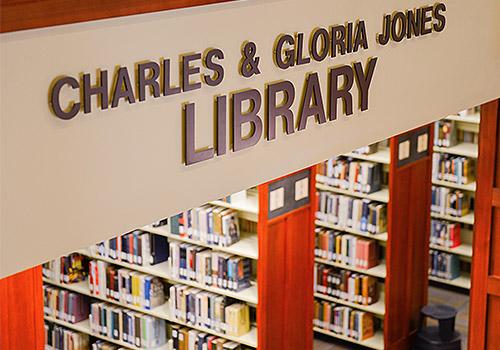 Charles and Gloria Jones Library
