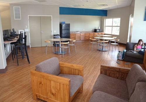 Weber Hall Dormitory Lounge