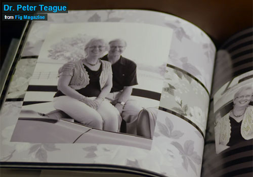Dr. & Mrs. Peter W. Teague freatured in Fig Magazine