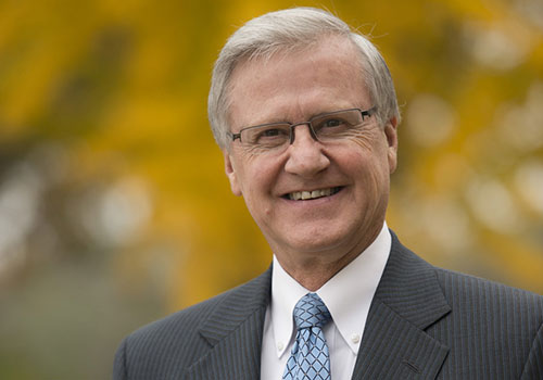 Dr. Peter W. Teague, President of Lancaster Bible College